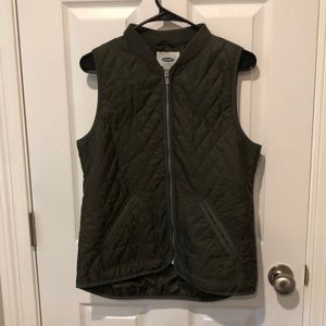 Small Olive Old Navy Vest